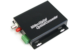 1 Channel Fiber Optic Video Transceiver