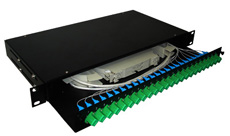 24 Ports Fiber Optic Patch Panels